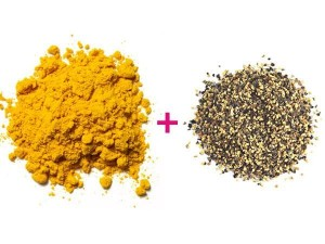 black pepper + curcumin